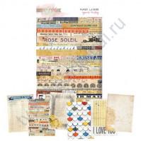 Набор винтажных книжных страниц Yours Truly, 6 штук, 12х17 см