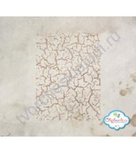 Трафарет пластиковый Эффект кракле-2, 11х16.5 см