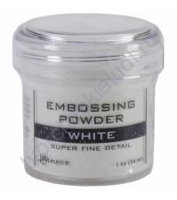 Пудра для эмбоссинга для мелких деталей, емкость 30 мл, цвет белый