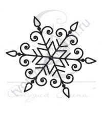 ФП печать (штамп) Снежинка-11, 2х2 см