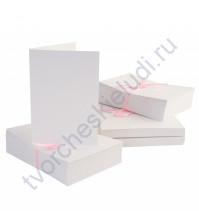 Заготовка для открытки с конвертом, A6, цвет белый, 1 шт