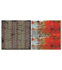 Лист двусторонней бумаги для скрапбукинга 30х30см, 170 гр/м, коллекция Rusty, лист 5003