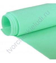 Лист фетра 20х30 см ±2 см, 1 мм, цвет 025-мятный пастельный