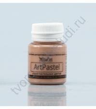 Краска акриловая пастельная AcryPastel на водной основе, флакон 20 мл, цвет пастельный песочный