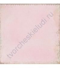 Бумага для скрапбукинга односторонняя 30х30 см Очарование, лист 12