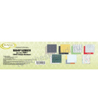 Набор бумаги двусторонней Синус-Косинус, 30.5х30.5 см, 190 гр/м, 7 листов