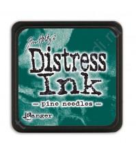 Штемпельная мини-подушечка Tim Holtz Distress Mini Ink Pads на водной основе, 2.5х2.5 см, цвет лесной мох (forest most)