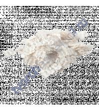 Мини-гортензия 2.5-3 см, 10 шт, цвет белый