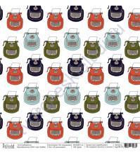 Бумага для скрапбукинга односторонняя коллекция На чемоданах, 30.5х30.5 см, 190 гр/м, лист Я записываю!