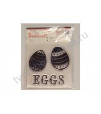 Набор штампов Eggs, размер набора 6х6 см