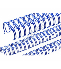 Пружинка для брошюровки, диам. 19 мм (3/4 дюйма), цвет синий