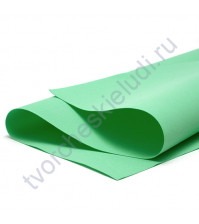 Фоамиран 1 мм, формат 25х25 см, цвет мята