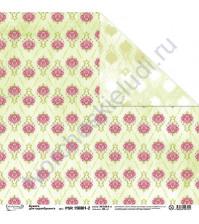 Бумага для скрапбукинга двусторонняя Краски лета, 30.5х30.5 см, 190 гр/м, лист 2