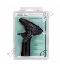 Клеевой пистолет беспроводной Hot Melt + 3 клеевых стержня