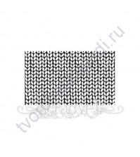 ФП печать (штамп) фоновый Вязка-1, 8х4.8 см