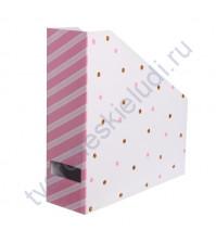 Органайзер для бумаги В горошек, 31х31х9.5 см