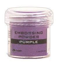 Пудра для эмбоссинга, емкость 30 мл, цвет пурпурный (фиолетовый)