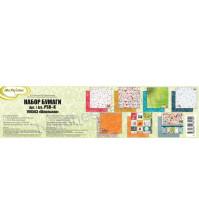 Набор бумаги Школьная, 30.5х30.5 см, 190 гр/м, 7 листов