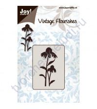 Нож для вырубки и тиснения Flowers and leaves-2, Цветы и листья-2