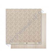 Бумага для скрапбукинга двусторонняя 30.5х30.5 см, 180 гр/м2, лист Маскировка