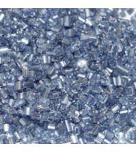 Рубка с круглым посеребренным отверстием, 10 гр, цвет 26-св.синий