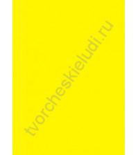 Кардсток текстурированный Весенний одуванчик (желтый), размер 30.5х30.5 см, плотность 216 гр/м