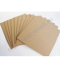 Крафт бумага, 30х30 см, плотность 120 гр., 1 лист