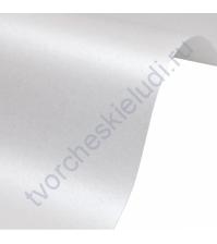 Лист гладкой дизайнерской бумаги Majestic 290 гр, формат 30х30 см, цвет Белый мрамор