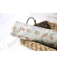 Ткань для лоскутного шитья Цветы в зеленом, 50х55 см