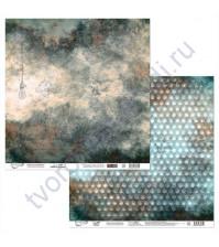 Бумага для скрапбукинга двусторонняя Феррум, 190 гр/м2, 30.5х30.5 см, лист 2