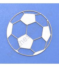 Чипборд Мяч, размер 38х38 мм