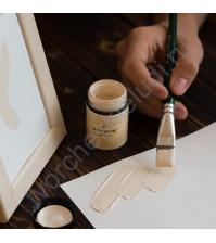 Краска акриловая Tury Design Di-7 на водной основе, флакон 60 гр, цвет Крем-брюле
