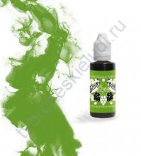 Чернила алкогольные ScrapEgo, емкость 30 мл, цвет Зеленый мексиканец