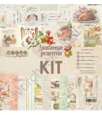 CraftPaper KIT - Любимые рецепты