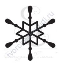 ФП печать (штамп) Снежинка-14,  2х2 см