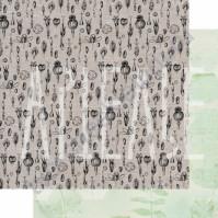 Бумага для скрапбукинга двусторонняя, коллекция PHOTOсинтез, 30х30 см плотность 190г/м, лист Семена любви