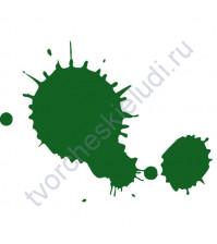 Штемпельная подушечка быстросохнущая, 3.5х2.5 см, цвет Плющ