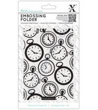Папка для эмбоссинга Карманные часы, размер А6