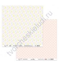 Бумага для скрапбукинга двусторонняя Зефирка, 190 гр/м2, 30.5х30.5 см, лист 1