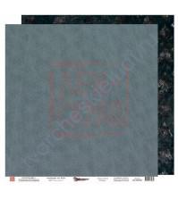 Бумага для скрапбукинга двусторонняя, 30.5х30.5 см, плотность 190 гр/м2, коллекция Die Villa, лист Великолепие