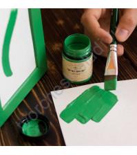 Краска акриловая Tury Design Di-7 на водной основе, флакон 60 гр, цвет Зеленый