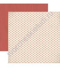 Бумага для скрапбукинга двусторонняя коллекция Adventu, 30.5х30.5 см, 220 гр/м, лист Blaze