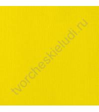 Кардсток текстурированный Лимон (Lemon), 30.5х30.5 см, 216 гр/м2