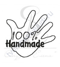 ФП печать (штамп) 100% handmade в ладошке, 3х3см