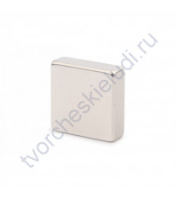 Неодимовый магнитный диск Квадрат, 5х1 мм, 1 штука