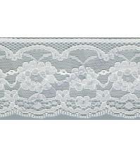 Кружево Lakidain, шир. 64 мм, цвет белый, 1 метр