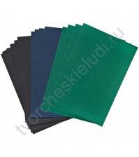 Набор меловой бумаги 13х18 см, 18 листов (Цена указана за 1/2 часть набора!)