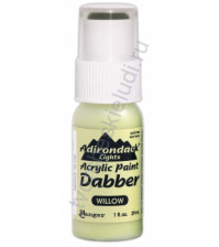 Краска акриловая Adirondack® Dabbers на водной основе, флакон с аппликатором емкостью 29 мл, цвет ива