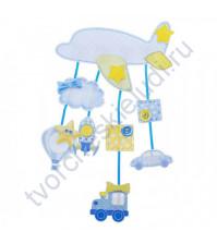 Набор для скрапбукинга Метрика малыша Самолет