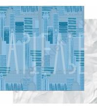Бумага для скрапбукинга двусторонняя, коллекция ФОНОteka II, 30.5х30.5 см плотность 190г/м, лист Гулять по крышам